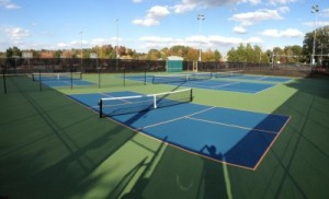 Mid County Park's new pickleball courts